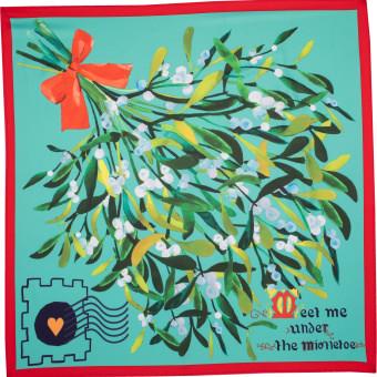 meet me under the mistletoe knot wrap christmas