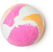 harajuku é uma colorida bomba de banho doce de baunilha às cores