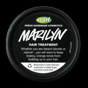 Der Deckel der Marilyn Haarmaske
