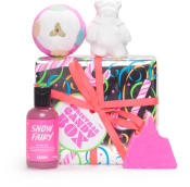 Confezione regalo di Natale Christmas Pink Box e il suo contenuto