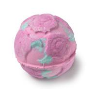 Rose Bombshell pink bath bomb