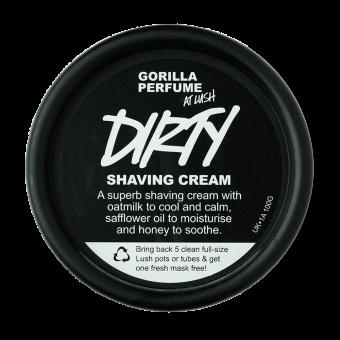 Dirty Crema per radersi Lush