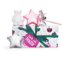 Confezione regalo di Natale Deck The Halls e il suo contenuto