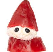 strawberry santa christmas soap