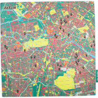 splash maps berlin knot wrap
