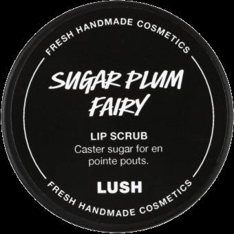 Tappo dello scrub labbra di Natale Sugar Plum Fairy