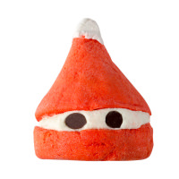 Peeping Santa bubble bar