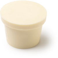 A pot shaped solid body lotion