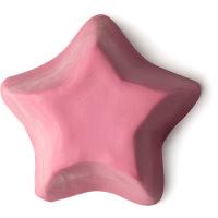rosa stjärnformad tvål