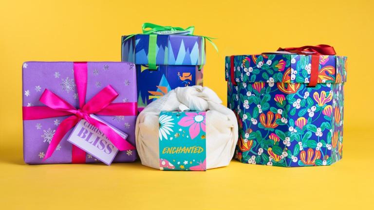 Fyra färgglada julklappar utvalda för att ge julklappstips