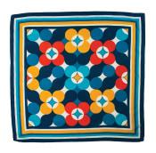återvunnen sjal som presentinslagning