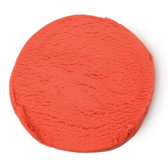 Badskum i form av röd modelera