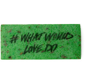 What would love do? washcard Gorilla Lush