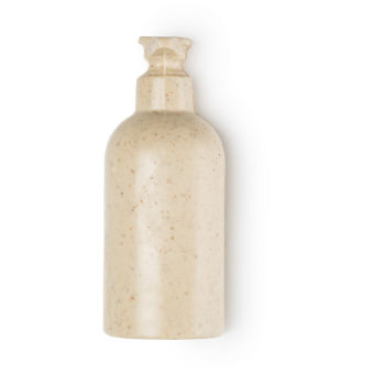 Sapone liquido solido bianco a forma di bottiglia di sapone