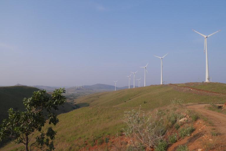 Wind turbines, Timbaktu