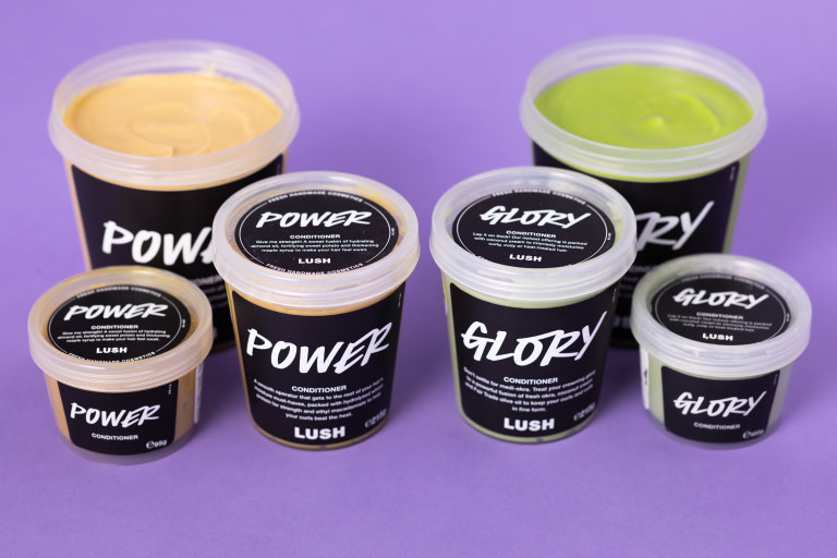 Afro hair conditioners from Lush
