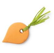 carrot óleo de duche em forma de cenoura hidratante livre de óleo de palma