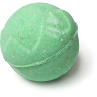 lord of misrule bomba de baño de color verde
