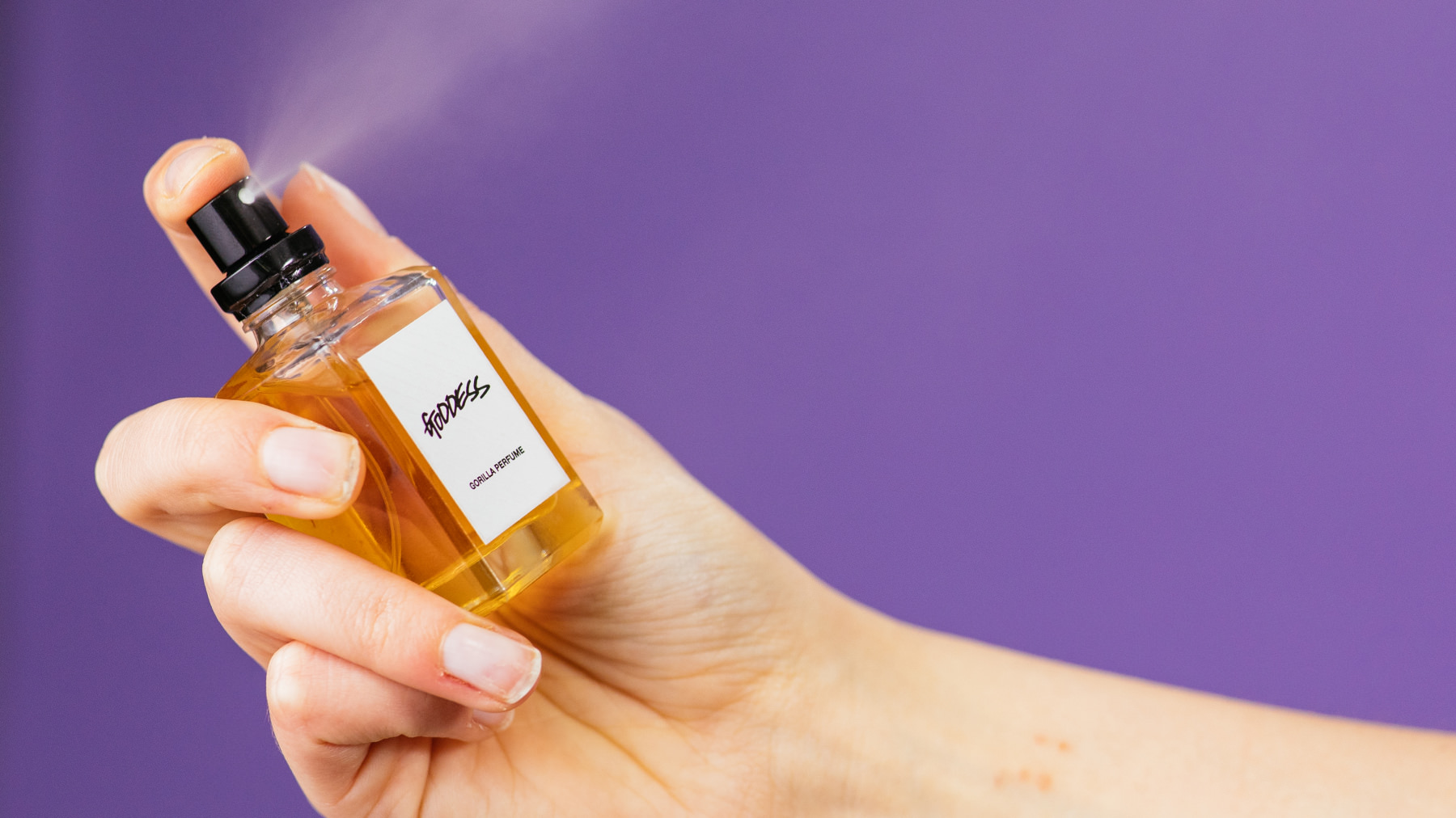hero goddess liquid perfume