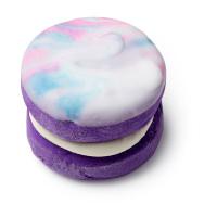 Purple Drain Spumante da bagno cremoso viola e marmorizzato