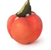 An apple shaped bubble bar