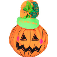 Lush Halloween Pumpkin Gift Set on White Background