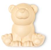 a handmade bear shaped soap