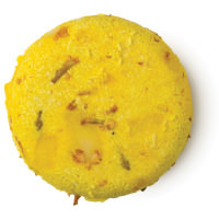 Godiva champú sólido 2 en 1 zero waste con jazmín de color amarillo