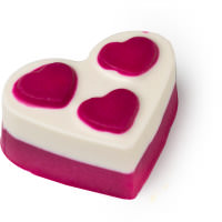 polyamourous aceite de baño en forma de corazón