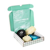 Offene Box mit dem Inhalt des Clean & Fresh As Handpflege-Sets