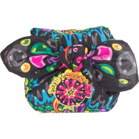 Ready Jelly Go regalo envuelto en un knot wrap reutilizable