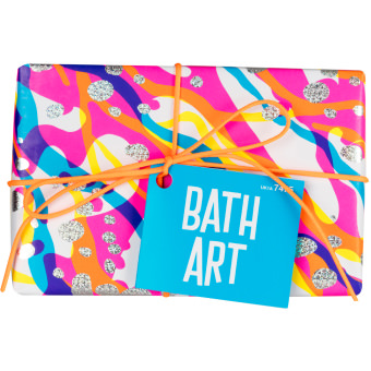 The Front View Of Bath Art Gift Box