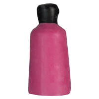 Snow Fairy é um dos géis de duche sólidos de natal em forma de garrafa cor de rosa e aroma doce