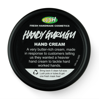Handy Gurugu (Gurugu) Crema per le mani Lush