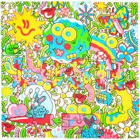 colourful wacky nature design
