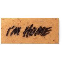 I'm Home Waschkarte Stück Seife fürs Handgepäck