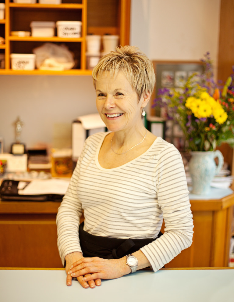 Lush co-founder and product inventor Helen Ambrosen
