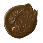 Cup O'Coffee braune Gesichtsmaske mit gemahlenem Kaffee