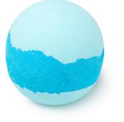 Frozen bath bomb