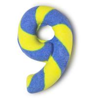 Birthday Number Nine - Spumante da bagno speziato a forma di numero 9