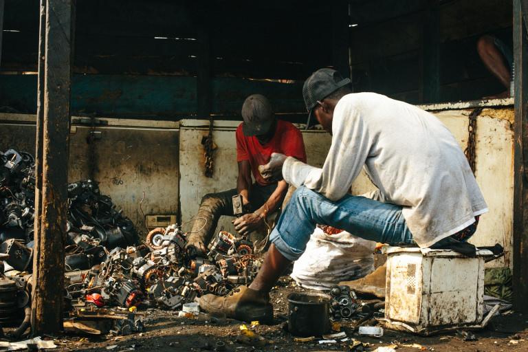 Agbogbloshie e-waste site