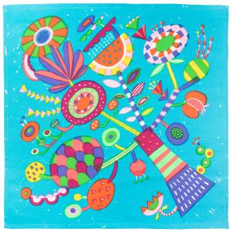 Um knot Wrap muito colorido para usar de mil maneiras