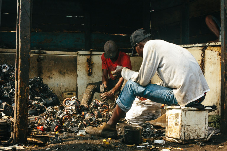 e-waste ghana agbogbloshie