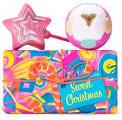 Confezione regalo di Natale Sweet Christmas e il suo contenuto