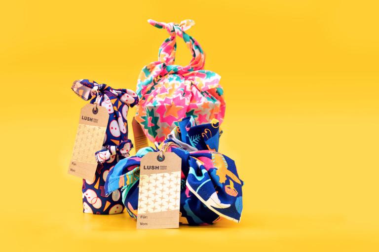 Knot-Wrap Geschenke
