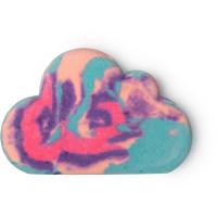 burbuja de baño sleepy de varios colores en forma de nube