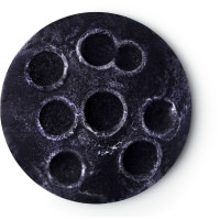 A purple round bubble bar