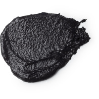 Schwarzes Duschpeeling