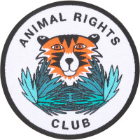 animal rights club swag patch