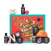 Confezione regalo di Natale Meet Me Under The Mistletoe e il suo contenuto